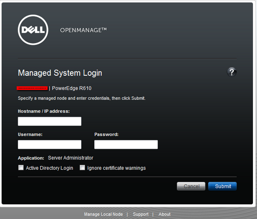 Dell Open Manage