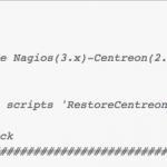 Script Backup Nagios + Centreon FAN