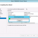 Part IV : Windows server 2012 & Hyper-V 3 : Live Migration