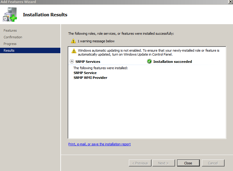 how to install WMI on windows