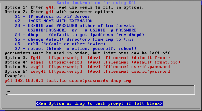 g4l ghost 4 linux