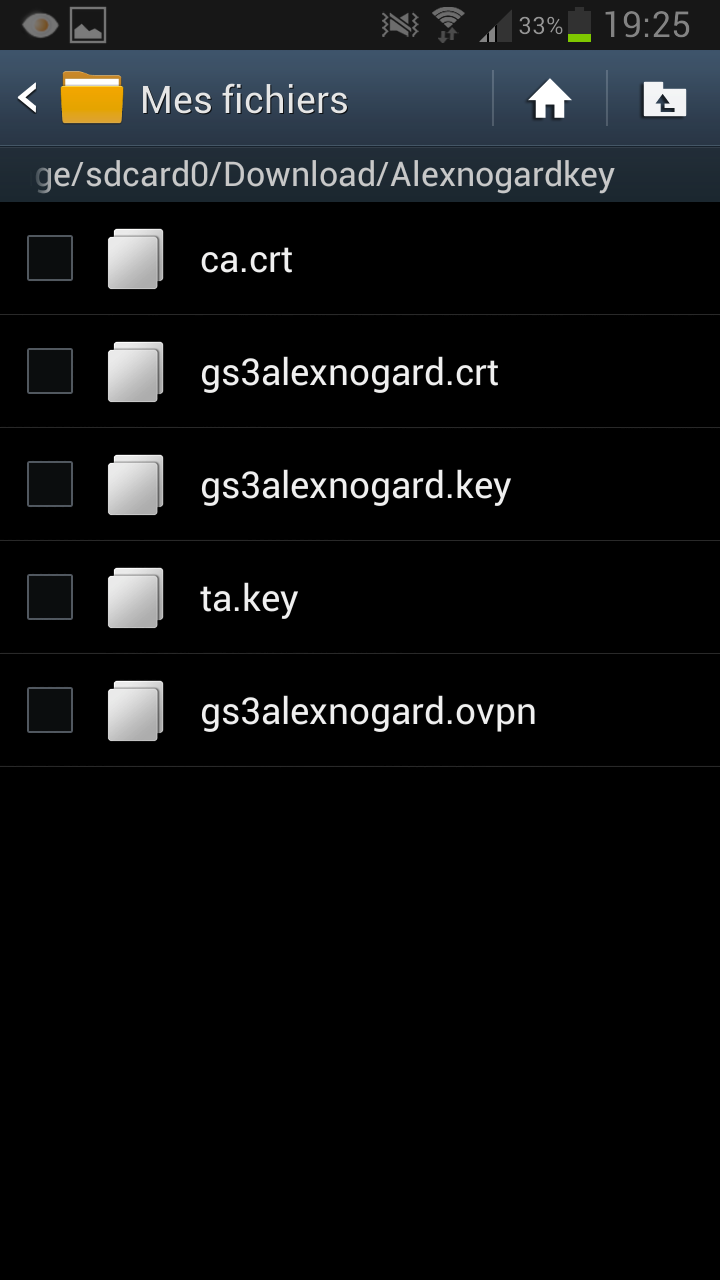 Openvpn Android