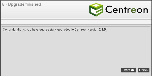 Centreon web Installation